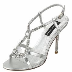 Save 10% + Free Shipping Offer * | Coupon Code: Pinterest10 Material: Man Made Material.4.25 inches, 1.25 inch platformTrue to size, Peep toe Platform PumpsProduct Code: Adriane-05 Grey Women's Celeste Water-01 Silver Color Rhinestone Evening Shoes