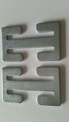 Universal car seat adjuster metal clip strap back plate