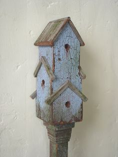 Carolyn's Little Kitchen: Birdhouses