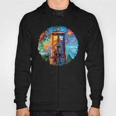 BeautifuL Blondie Lost in the strange city HOODY UNISEX #hoody #unisex #painting #acrylic #watercolor #abstract #illustration #popart #tardisdoctorwho #doctorwho #davidtennant #publiccallbox #phonebox #happybirthday #riversongs #12thdoctor #10thdoctor #alexkingston