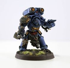 Wolf Guard Terminator with Storm Bolter, Power Fist and Cyclone Missile Launcher