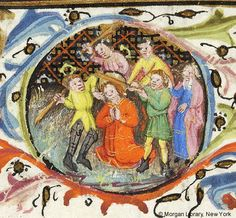 Book of Hours, MS M.64 fol. 122r - Images from Medieval and Renaissance Manuscripts - The Morgan Library & Museum