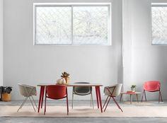 sillas bai chairs mesa bob table