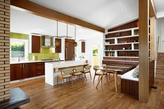A 1960s House Gets A Contemporary Update From Sarah Gallop Design - http://www.interiordesign2014.com/architecture/a-1960s-house-gets-a-contemporary-update-from-sarah-gallop-design/