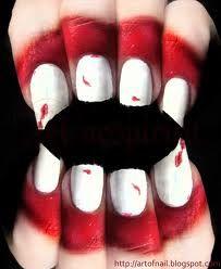 vampire nails :)