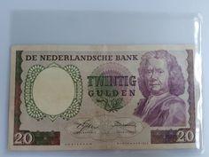 Nederland - 20 gulden 1955 - Boerhave - mevius 60-1