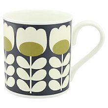 Orla Kiely Tulip Stem Mug, Green