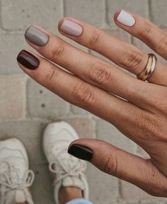 In seek out some nail designs and some ideas for your nails? Here is our list of must-try coffin acrylic nails for cool women. Fall Gel Nails, Gradient Nails, Pastel Nails, Pink Nails, My Nails, Acrylic Nails, Nails Inc, Stylish Nails, Trendy Nails