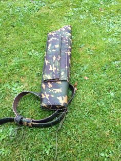 Second big game Hunting Quiver, also special custom order, this one was originally designed so it could be side & back worn... I have since learnt that the customer removed the side quiver option.