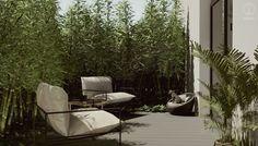 #aranzacjatarasu #terracedecor #wooden #minimalisthome #minimalism #plantsinhome #minimalistinterior #moderninteriors #blackandwhiteinterior #plants #interiordesign #architekturawnetrz #smallgarden #design #eclectic #cozy #cosy #harmony #pracowniasttyk #sttyk #estetyka Outdoor Furniture, Outdoor Decor, Sun Lounger, Bed, Home Decor, Chaise Longue, Decoration Home, Stream Bed, Room Decor