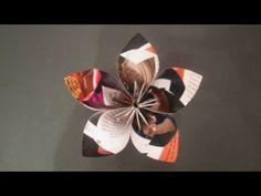 Como Hacer Rosas en Papel de Revista- HogarTv por Juan Gonzalo Angel
