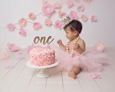 CakeSmashPhotography – Page 2 Pink Smash Cakes, Baby Cake Smash, 1st Birthday Cake Smash, Baby Girl Cakes, Smash Cake Girls, Cake Smash Outfit Girl, 1st Birthday Photoshoot, 1st Birthday Party For Girls, Girl Birthday Decorations