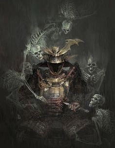 Ronin Samurai, Samurai Warrior, 3d Fantasy, Dark Fantasy, Theme Tattoo, Samurai Artwork, Miyamoto Musashi, Japanese Warrior, Samurai Tattoo