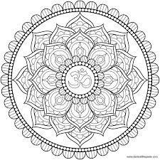 Résultats de recherche d'images pour «coloriage lotus»