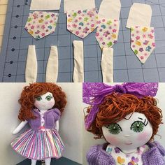 Long, long ago (or so it seems) there was an idea. After many trials and tribulations a Dainty Little Doll was born! Etsy shop coming soon!