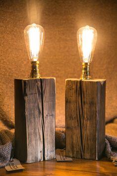 Rustic tall lamp MB021 von MooBooHome auf Etsy