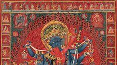 This episode of MetCollects takes a closer look at a devotional cloth painting depicting Chakrasamvara embracing his yogini consort Vajravarahi. Metropolitan Museum, Art Museum, Bohemian Rug, Rugs, Painting, Carpets, Painting Art, Paintings, Rug