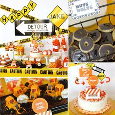 Dig It! A Cool Construction Birthday Party from @lilsugar