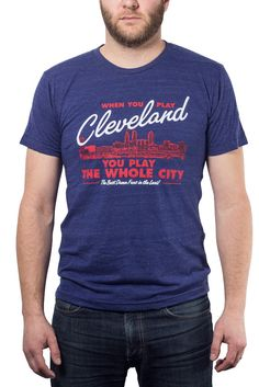 When You Play Cleveland... Ballpark - Unisex Crew