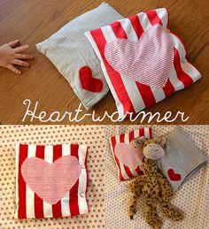 Share the Love Day 4: Heart-Warmer Heat Pad Tutorial