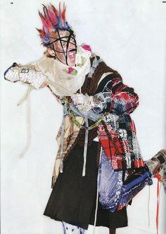 Photo:Richard Burbridge   Stylist: Robbie Spencer  Hollow /   Editorial from Dazed & Confused Magazine, August 2011
