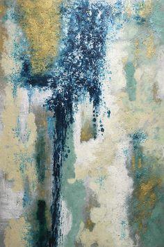 Blue View Wall Art - Modern Art Prints - Canvas Wall Art - Gallery Wrapped Canvas Prints   HomeDecorators.com