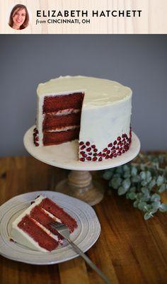 Naturally-Dyed Red Velvet Cake   Red velvet, Cake and Recipes