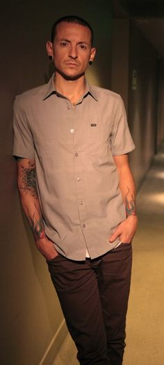 Chester - Linkin Park...I just love him