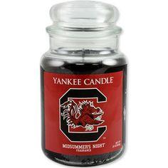 South Carolina Gamecocks Yankee Candle - Midsummer's Night #gamecocks