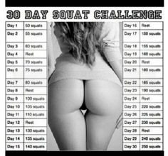 The 30 Day Squat Challenge | Inside Evie's Brain