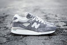 New Balance Made in USA M998 Grey