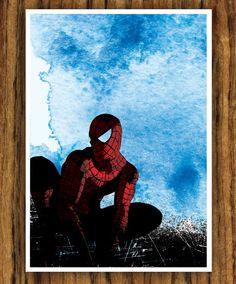 Spider-man Movie A3 Poster. via Etsy.
