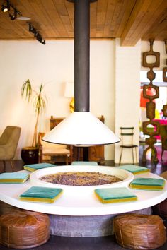 PARKER PALM SPRINGS: A WEEKENDGETAWAY - a house in the hills - interiors, style, food, and dogs