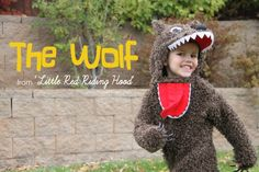 Halloween Costumes: The Wolf (from 'Little Red Riding Hood') / Máscaras de Carnaval: Lobo Mau