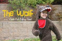 Anleitung um einen bösen Wolf Overall zu nähen / Ganzkörperkostum, Kostüm Fasching