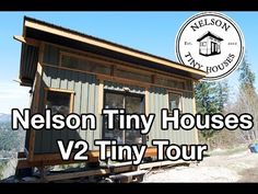Nelson Tiny Houses Maple House (Our Second V House) Tiny Tour - YouTube