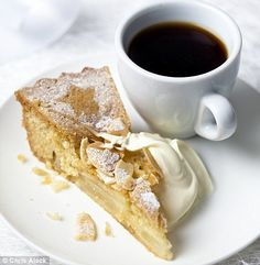 who would've thought! first pin from daily maily...  Mary Berry's very best apple dessert cake