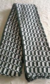 Ravelry: Spike Chain Stitch Scarf pattern by Cindy RecycleCindy Slip Stitch Knitting, Crochet Scarves, Crochet Sweaters, Chain Stitch, Patterned Shorts, Ravelry, Needlework, Crochet Patterns, Junk Drawer