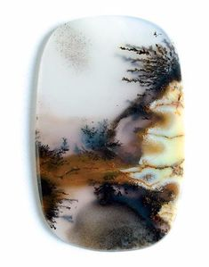 Montana landscape agate Moss Agate, Agate Stone, Minerals And Gemstones, Rocks And Minerals, Agate Jewelry, Rock Collection, Beautiful Rocks, Mineral Stone, Rocks And Gems