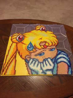 Sailor Moon Perler Beads by jnjfranklin