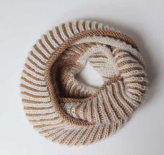 Návod na pletený nákrčník   Handmade knitted womens cowl pattern Tvorivé  Nápady 3e023c786e