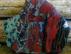 Red Velvet Kaleidoscope Jasper Oregon