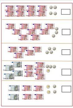 Oefenen met geld tellen