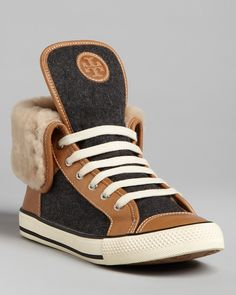 Tory Burch High Top Sneakers