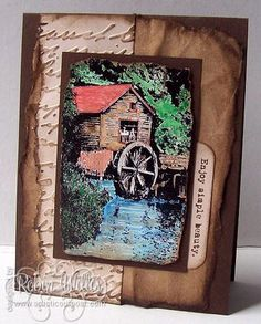 Stamps - Artistic Outpost Old Grist Mill Old Grist Mill, Stamps, Artist, Seals, Stamping, Postage Stamps, Amen, Stamp, Artists
