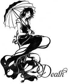 Death of the Endless, from Gaiman's Sandman.