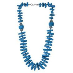 Adorn this necklace and grace your attire. A must buy to complement any western dress. A necklace for disco party, official party or family get together, you can indulge in Modish look with this necklace in any of the occassion
