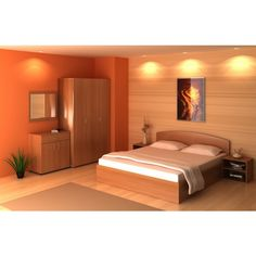 The Feng Shui Bedroom Design Of 2018 The feng shui has many benefits in different ways and you apply it in your bedroom you will definitely get good results. Here are some some beautiful pictures of feng shui bedroom designs, You must see! Bedroom Color Schemes, Bedroom Paint Colors, Orange Bedroom Walls, Home Bedroom, Bedroom Decor, Bedroom Hacks, Ikea Bedroom, Bedroom Ideas, Feng Shui Bedroom Tips