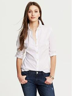 Fitted Non-Iron Textured Shirt - Shirts... I could never have too many of these!!