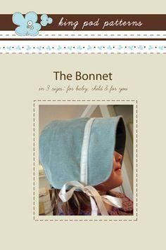 easy bonnet pattern $8